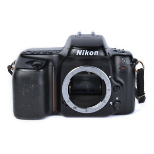 Nikon N50 35mm SLR Film Camera Body Only *Tested and Works*