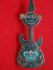 HRC Hard Rock Cafe Foxwoods Blue Rock Couture Guitar 2008 LE200