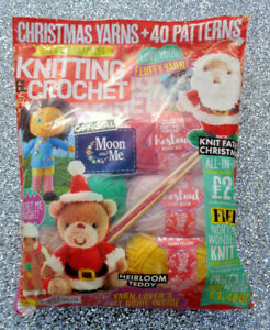 LETS GET CRAFTING KNITTING & CROCHET MAGAZINE ISSUE #126 ~ NEW SEALED ~