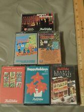 Christmas Audio Cassettes (LOT of 6) The Chipmunks + True Value Hardware