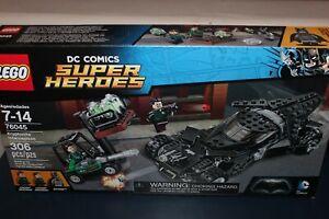 LEGO Super Heroes Kryptonite Interception 2016 (76045) New! NIB!