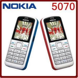 """Original Nokia 5070 2G bands Radio CAMERA 1.87"""" Cellphone GSM 900 / 1800 / 1900"""