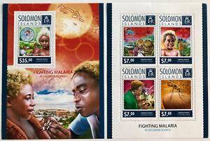 2014 Solomon Islands Souvenir Sheets | Mi #BL335 & 2767-2770KB | MNH OG
