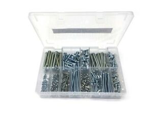 G.R Fasteners GRF0039 Assorted M3-M6 Cheese Head Screws BZP 400 Piece Kit