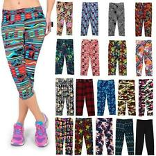 Polyester Floral Plus Size Running Activewear for Women