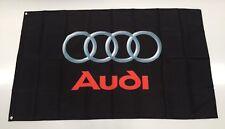 Audi Style 2 Banner Flag Car S Line Mechanic Workshop Man Cave A4 Q5 Q7 Quattro