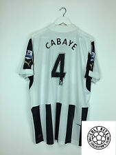 Newcastle United CABAYE #4 12/13 Home Football Shirt (XL) Soccer Jersey