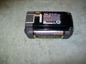 1 of Ryobi part # 130186069 206336009 40 volt 2.4 AH battery  OEM part