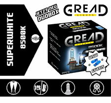 Gread Lights HB4 SuperWhite 8500K 55W Xenon Look Optik Halogen Lampen + W5W