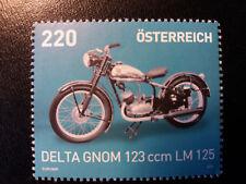 """EINE Sondermarke Österreich 2015 mit Oldtimer """"Delta Gnom 123"""""""