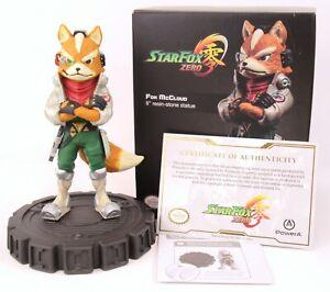 "PowerA Nintendo Star Fox Zero 8"" Resin-Stone Fox McCloud Statue 4630/5000"