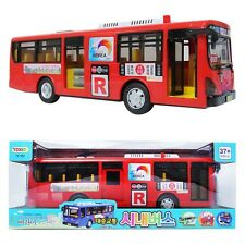 Red-Transit Bus Korea Seoul Bus Toy Sound Lite full back