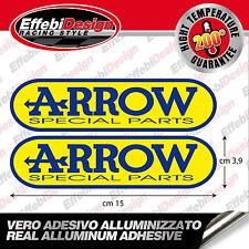 Adesivo/Sticker ARROW 2pz ALTE TEMPERATURE 200 gr EXHAUST SCARICHI HIGHT QUALITY