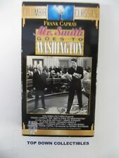 Mr. Smith Goes To Washington James Stewart, Claude Rains Vhs Movie