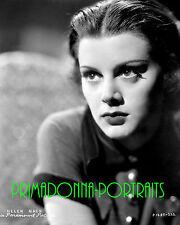 HELEN MACK 8X10 Lab Photo B&W 1930s SEXY YOUTHFUL STARE PORTRAIT