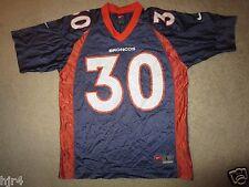 Denver Broncos #30 Terrell Davis NFL Nike Jersey Youth L 14-16 children