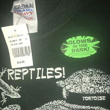 Youth L Reptiles Glow in the dark T shirt. New with Tags. Ready for Christmas!