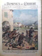La Domenica del Corriere 13 Febbraio 1944 WW2 Balilla Radio Burano Croce Rossa