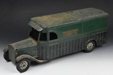 Antique Keystone Pressed Steel Delivery Toy Truck