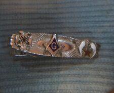 Vintage Masonic Tie Tack Clip