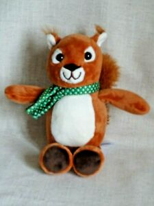 KINDER CHOCOLATE SMALL RED SQUIRREL SOFT PLUSH TOY