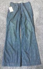 DENIM & SUPPLY RALPH LAUREN Alston Wash Bleach-Spots Flare Jeans 29 X 32 New