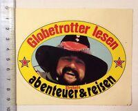 Aufkleber/Sticker: Strebels - Abenteuer & Reisen - Globetrotter Lesen(010316143)
