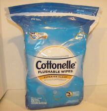 Cottonelle Flushable Wipes Resealable Pack 252 Wipes Read Details