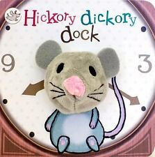 Hickory Dickory Dock Finger Puppet Board BOOK - Little Learners by Parragon –LNC