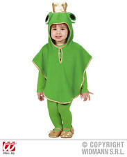 Childrens Frog Fancy Dress Costume Toad Animal Outfit 1-2 Yrs