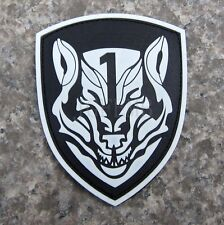 Luminous Medal of Honor MOH AFO WOLFPACK 3D PVC Patch PB175
