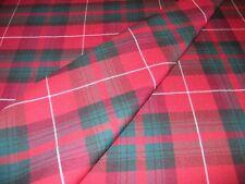 Stuart of Bute Tartan Fabric Plaid 100% Pure New Wool By The Metre