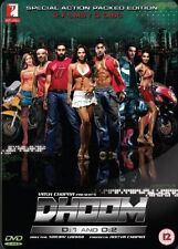 DHOOM 1 & 2 - SPECIAL 3 DVD BOLLYWOOD STEELBOOK SET BOX