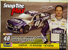 2016 CHEVROLET ss Nascar # 48 Lowe 's Jimmy Johnson, 1:24, revell 1475 NEUF 2016