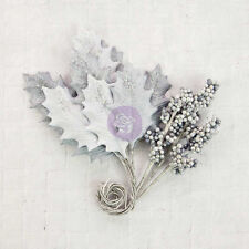 Prima Flower Embellishments Silver Cloud 590413 2016 LEAVES