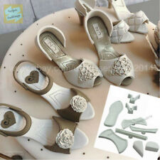 Lady's Shoe, high heel Cutter for Fondant, Gum Paste, Marzipan 9 pcs. set