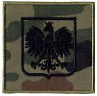 WW2 Polish White Eagle Patch 3.7inch Of Poland Military Forces Black Pantera