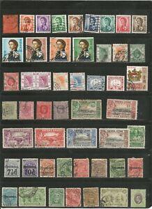 Nice lot-British Colonies -Mh/ Used 1800's-1960's inc BOB.-nice cancels