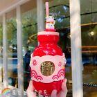 New Starbucks 2021 China Happy Ox Year Siren Logo Cow Topper Straw 15oz Cup Mug