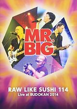MR. BIG RAW LIKE SUSHI 114 LIVE AT BUDOKAN 2014 JAPAN TWO DVD + TWO K2HD HQ CD