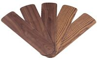 "Westinghouse 7741500 52"" Oak & Walnut Reversible Fan Blades 5 Count,No 7741500"