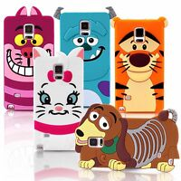 Soft Silicone 3D Cartoon Rubber Case Cover For SAMSUNG GALAXY S3 S4 S5 A3 A5 J3