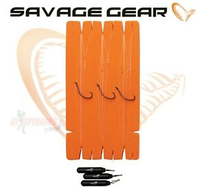 Savage Gear Perfect Finesse Drop Shot Rig Kit 3pcs Ready Rigs Weights Hooks lrf