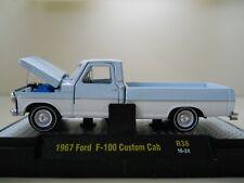 M2 MACHINES - AUTO-TRUCKS - 1967 FORD F-100 CUSTOM CAB PICKUP TRUCK - 1/64