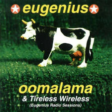 2 X CD EUGENIUS Oomalama & Tireless Wireless  MINT CAPTAIN AMERICA THE VASELINES