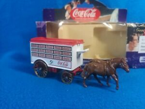 Boxed LLEDO Days Gone COCA COLA Horse Drawn Delivery Van COKE Diecast Model