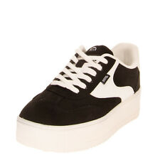 MTNG ATTITUDE Sneakers Size 37 UK 4 US 5 Flatform Serrated Sole Logo Lace Up