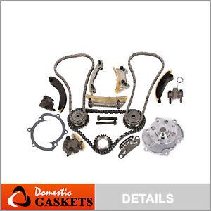 04-06 Cadillac Buick Saturn Suzuki 3.6L Saab 2.8L Timing Chain Kit Water Pump