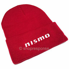 Nismo Beanie Hat Knit Cap Skull Cap Red KWA05-50D10-RD Authentic Genuine