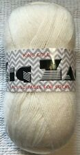 King Cole Zig Zag Sock Yarn 753 Cream 100g & *FREE KNITTING PATTERN*